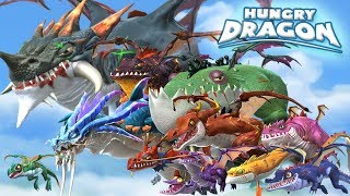 ALL DRAGONS + TIPS & STRATEGIES - Hungry Dragon | GamePlay | HD