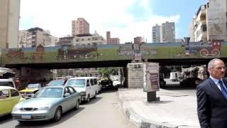 بالفيديو.. مدير أمن الإسكندرية يشرف على تسهيل حركة المرور وسط المحافظة