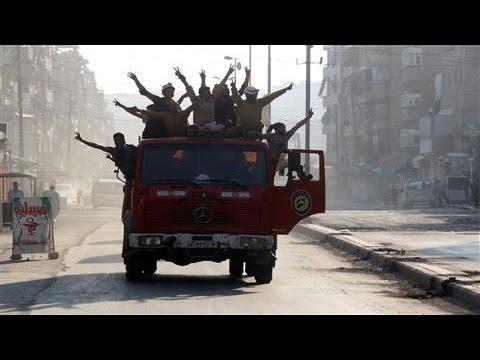 Rebels Claim Breach of Aleppo Siege