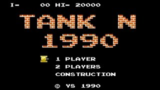 Battle City (Tank N 1990) NES, Dendy gameplay [132]