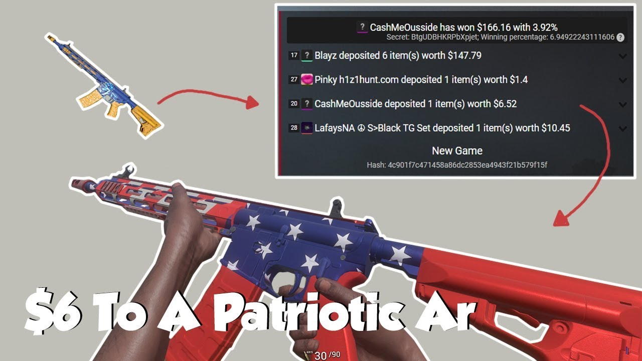 4% Patriotic Ar Win! | Llama & CashMeOusside Part 1 - YouTube