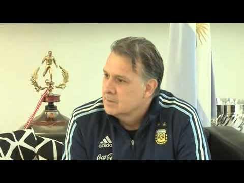 """Gerardo Martino: """"Argentina debe ir a la Copa América a ganar el título"""""""