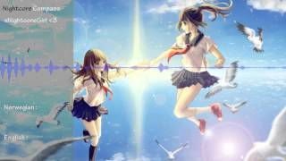 nightcore compass with english and norwegian lyrics two steps from hell ft merethe soltvedt