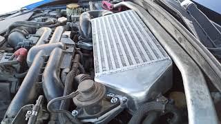 Нашли потерянную мощность Subaru Impreza WRX STI (but engine ej255) - проблема была в интеркулере!