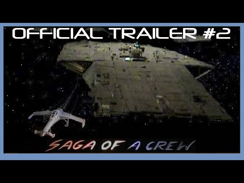space movie, Science Fiction Film, Saga of a Crew - OFFICIAL TRAILER #2