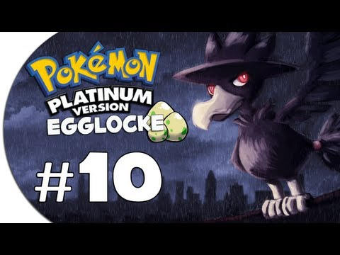 "Pokémon Platinum Egglocke! | Ep 10 ""FUCK THE POLICE"""