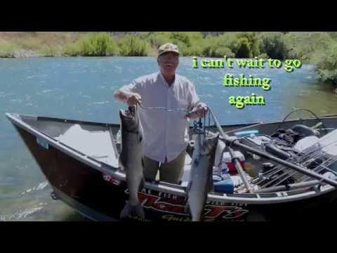 Trinity River Ca.  Salmon Fishing