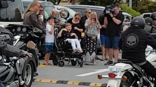 😭 MUST WATCH!!!! Special birthday surprise for a special young Man Well done the Bikers of Bunbury.
