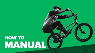 Как делать Мэнуал на BMX (How to Manual BMX)