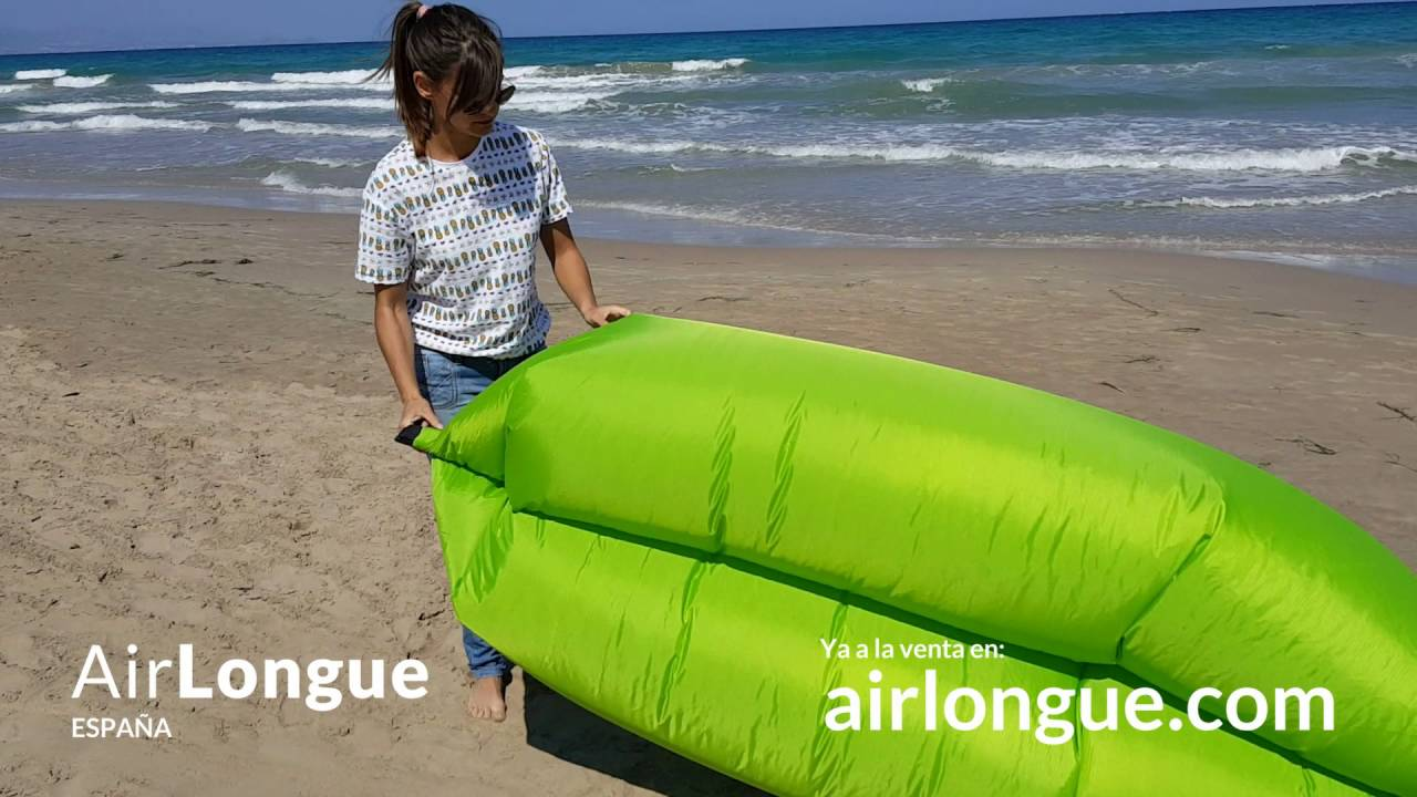 AirLongue - Sofá inflable 2016 - v1 - YouTube