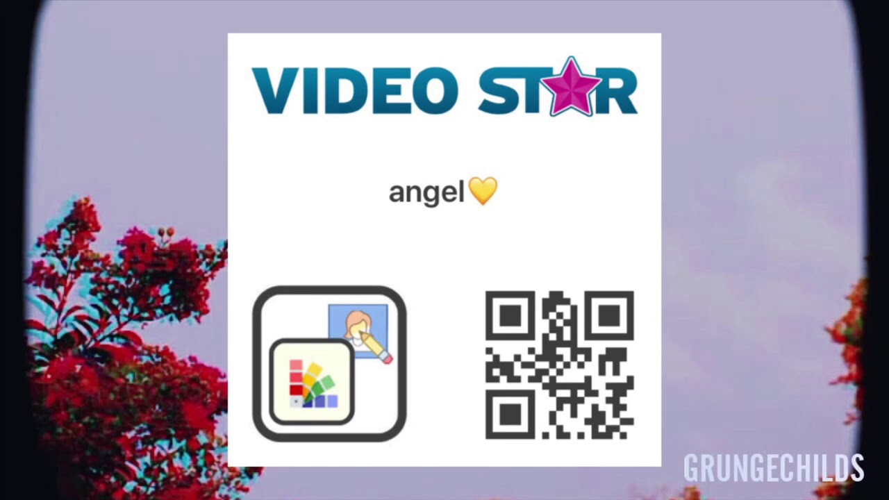 video star codes text