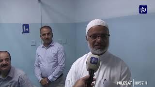 """كوادر المستشفيات والدفاع المدني بإربد تتعامل مع """"ضغط العيد"""" (14/8/2019)"""