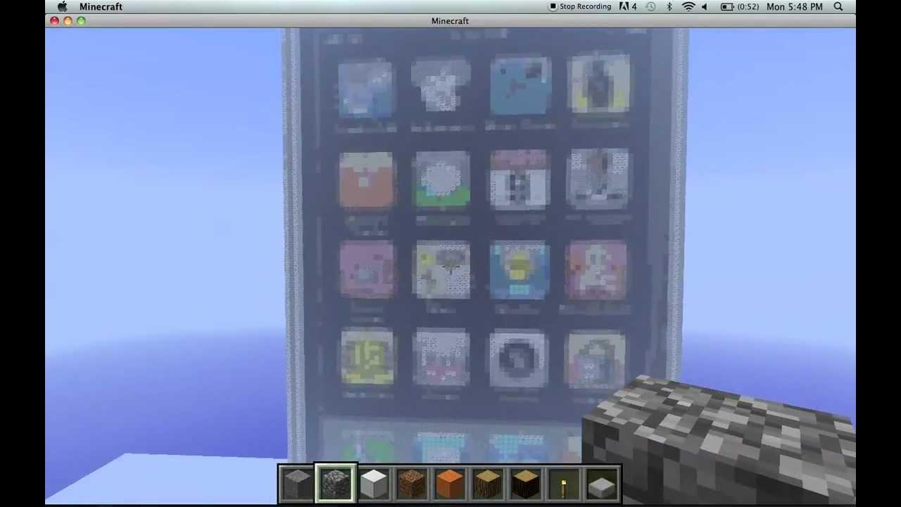 Fabuleux iPhone - Minecraft Pixel Art - YouTube YE02