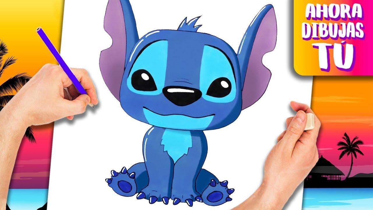 How To Draw Stitch Easy Drawings Lilo Stitch