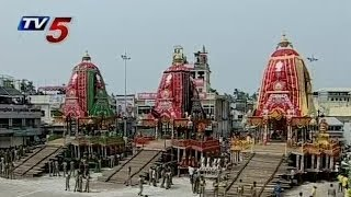 Puri | Jagannatha Ratha Yatra Begins : TV5 News