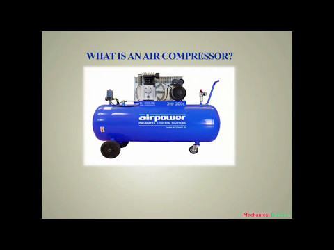Basics of air compressor video and how a compressor works