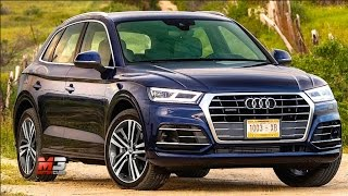 NEW AUDI Q5 TFSI QUATTRO 2017 - FIRST TEST DRIVE OFF ROAD ONLY SOUND