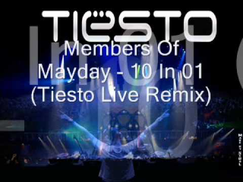 members of mayday 10 in 01 tiesto live remix youtube. Black Bedroom Furniture Sets. Home Design Ideas