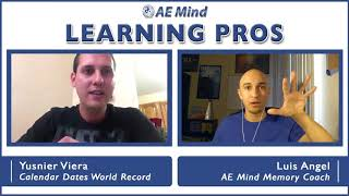 Yusnier Viera on Training for Mental Math Competitions - Learning Pros with Luis Angel