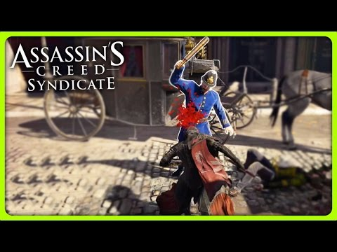 KIDNAPPING A BALD MAN   Assassin's Creed Syndicate Free Roam