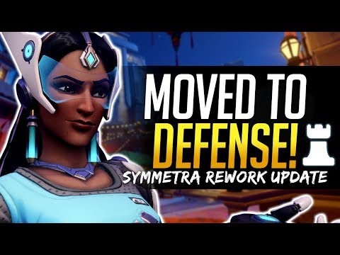 Overwatch SYMMETRA REWORK UPDATE - Class Change and What this means for the Hero