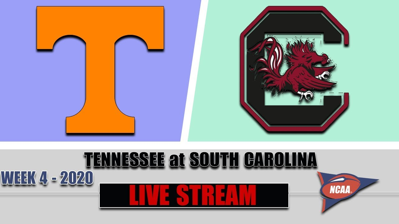 Tennessee Volunteers vs South Carolina Gamecocks Live | 2020 College Football Week 4 | 9/26/2020