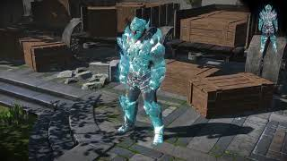 Path of Exile: Ice Armour Set