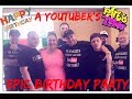 GROUP OF YOUTUBERS CRASH A BIRTHDAY PARTY