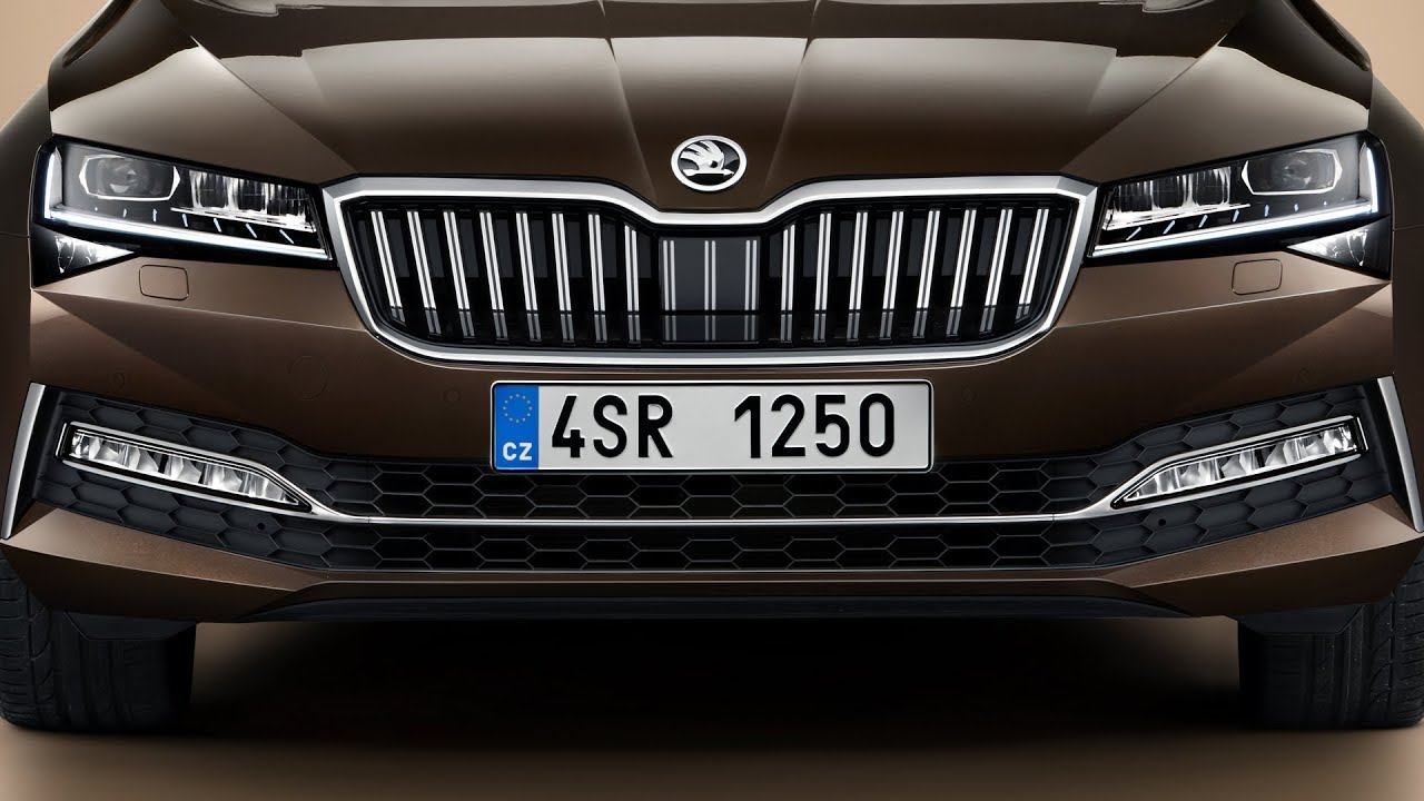 New Skoda Superb L K 2020 Facelift More Luxury Tech Than