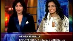 Genta Ismajli ne studion e Zerit te Amerikes