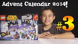 2014 LEGO STAR WARS Advent Calendar DAY 3 - Set 75056 + Question of the Day!