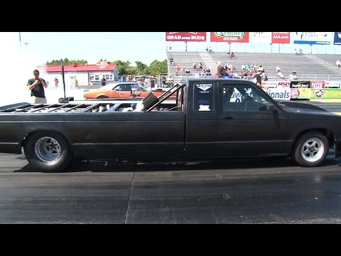 INSANE Twin Turbo Rear Engine Stretchy Truck