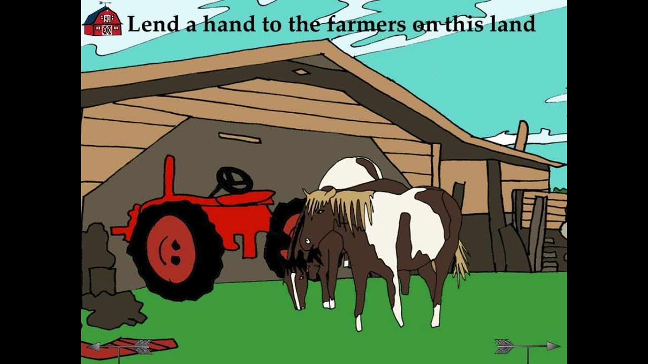 Lend a Hand to the Farmers - Lend A Hand App out now!
