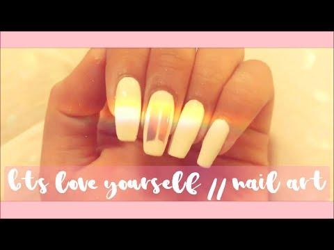 ❤️BTS Love Yourself // Nail Art❤️