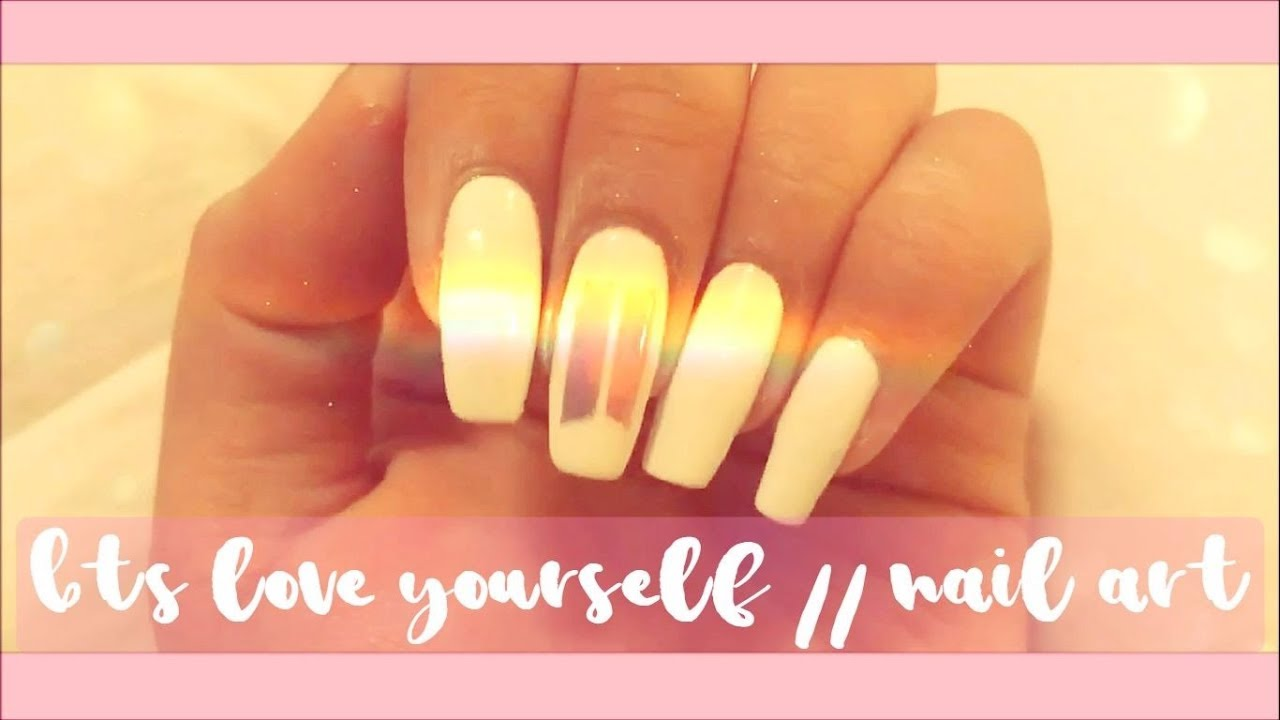 ❤️BTS Love Yourself // Nail Art❤ - YouTube