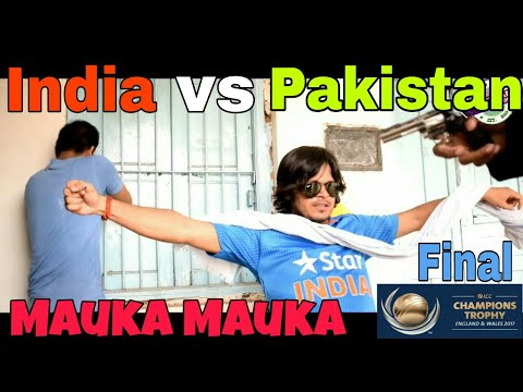 ICC Champions Trophy final: India vs Pakistan