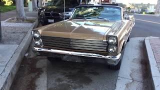 1965 Gold Mercury Comet Caliente Convertible