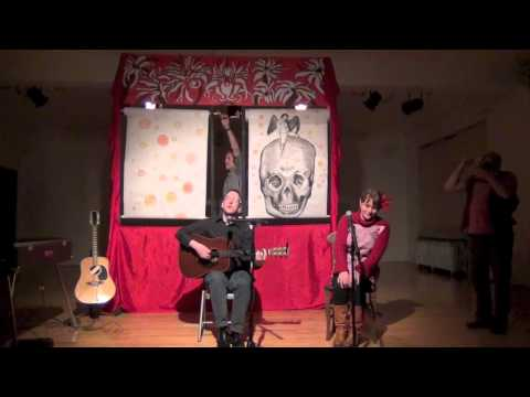 """feat. vocalist on """"Cupid and the Skull"""" at Theater Oobleck's Baudelaire in a Box series."""