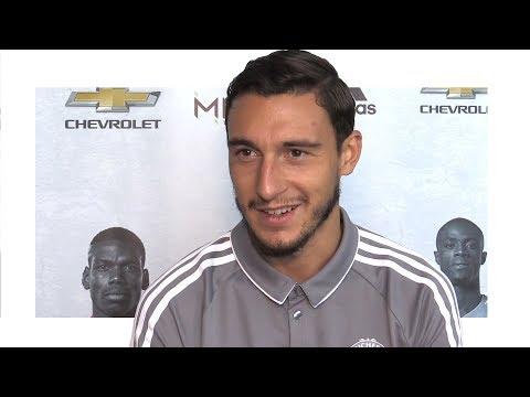 Interview With Matteo Darmian -