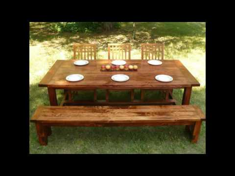 outdoor dining bench with back