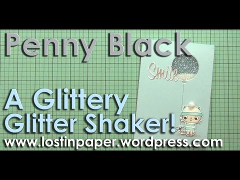 A Glittery Glitter Shaker Card!