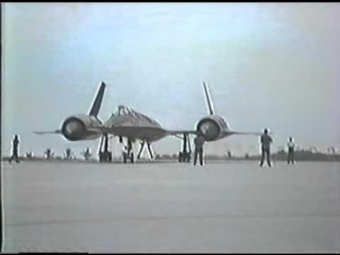 SR71 NightTime Takeoff  19Sept1984  Harold Michell #42B