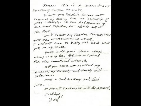 Dad Cites Bible To Disown Gay Son In Letter