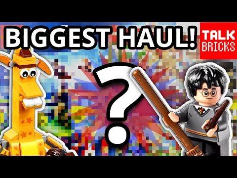 My Biggest LEGO Haul EVER?! Last Toys R Us Haul! Harry Potter! Brickworld 2018 & MORE!
