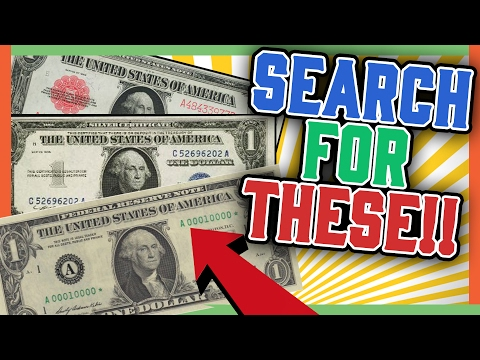 RARE DOLLAR BILLS WORTH MONEY - ERROR DOLLARS!!