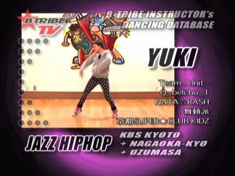 B-TRIBE DANCING DATABASE 19 YUKI