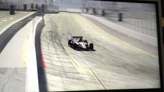 Testing out the new paint scheme in iRacing at Long Beach