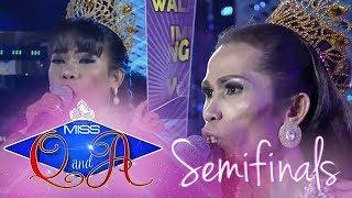 It's Showtime Miss Q & A Semifinals: Elsa Droga vs. Ligaya Maligat   Di Ba? Teh! Ganern