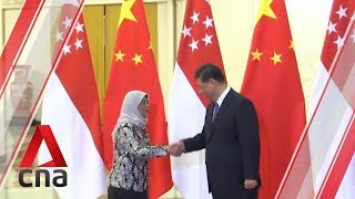 Singapore President in China calls for better communication between different communities