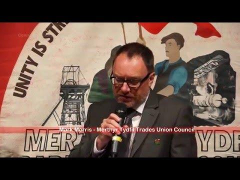 The Hustings - National Assembly Elections Merthyr Tydfil & Rhymney